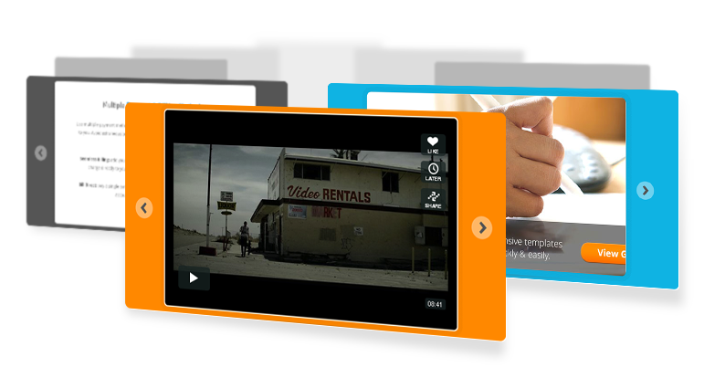 Video Slider, Image Slider, HTML Content Slider All-In-One!